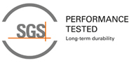 SGS Preformance Tested for Long-term durability